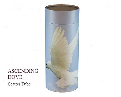 Ascending Dove Scatter Tube